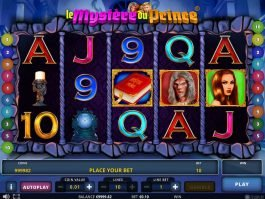 A picture of the slot game Le Mystere du Prince