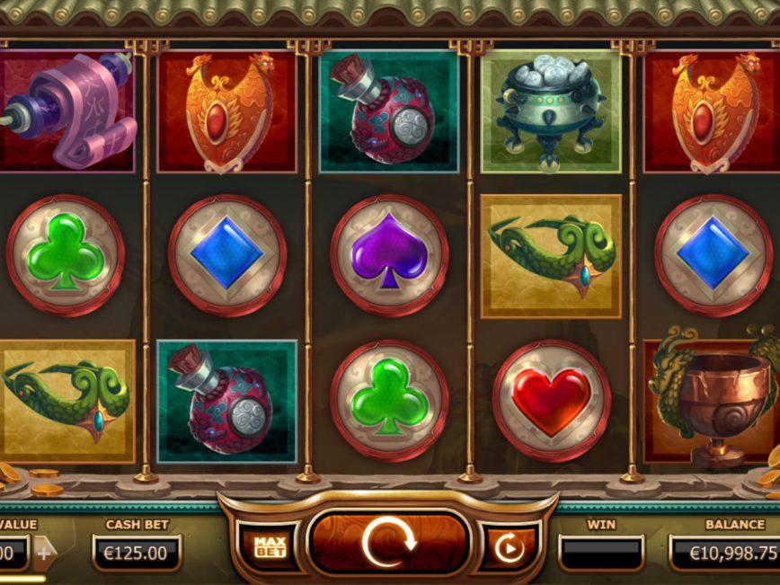 Legend of the Golden Monkey free online slot machine