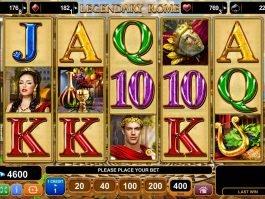 Legendary Rome free slot machine