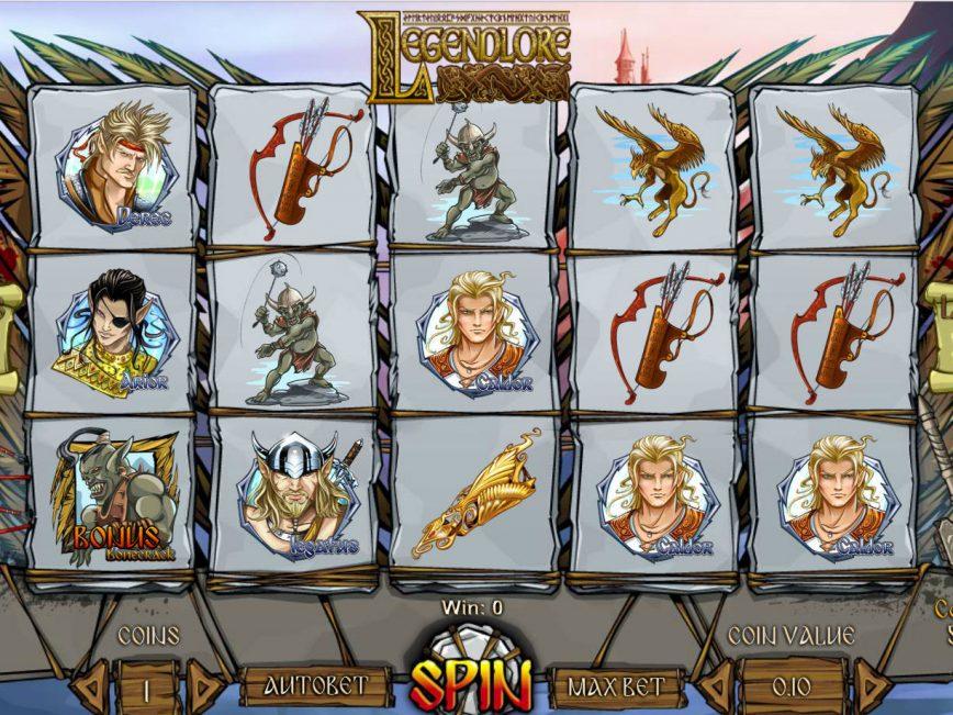 Spiele Legendlore - Video Slots Online