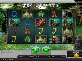 No deposit game Loa Spirits online