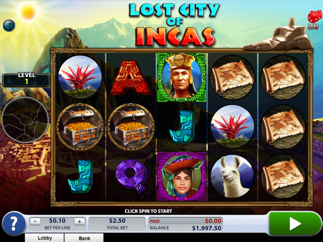 Incas slot machine