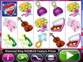 A picture of the slot game Love Bugs online
