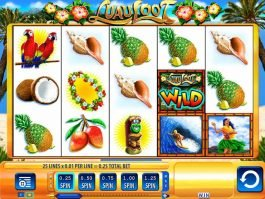 No deposit game Luau Loot online