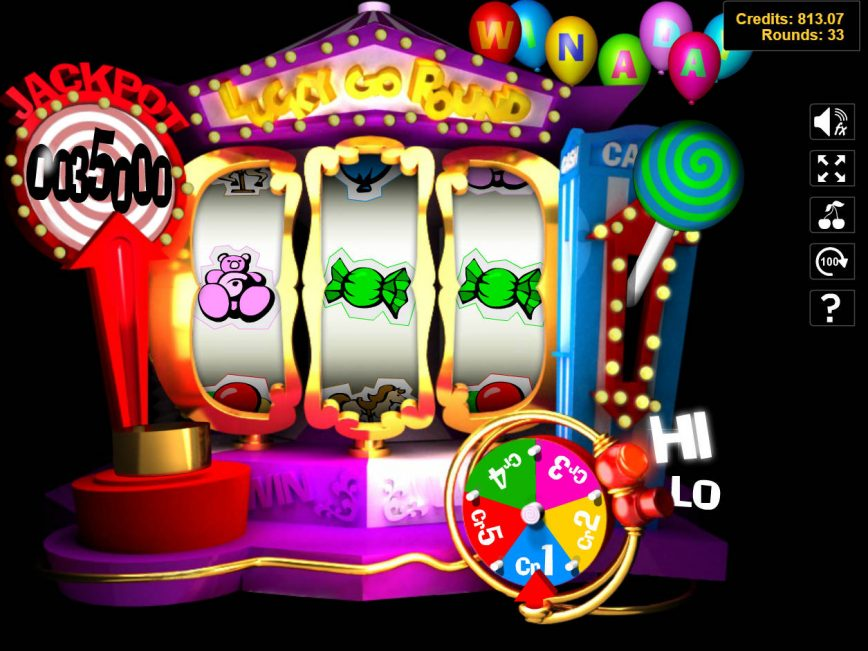 Play free casino game Lucky Go Round