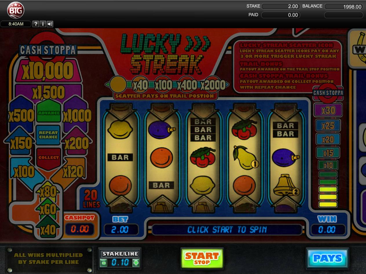 Lucky Streak Slot Machine