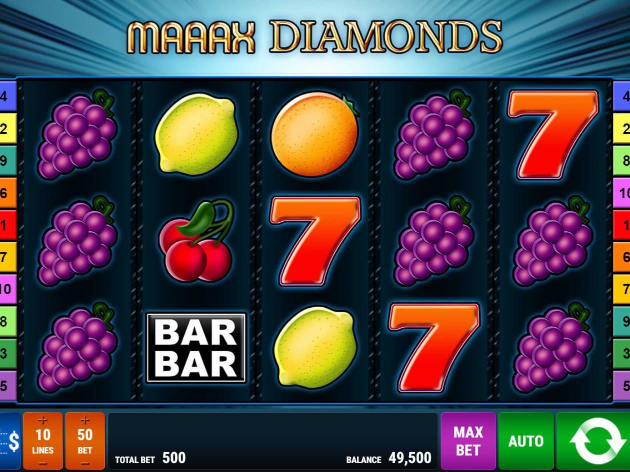 Maaax Diamonds Slot Machine