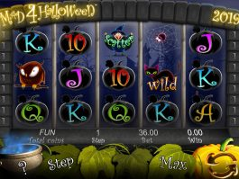Online free slot game Mad 4 Halloween no deposit