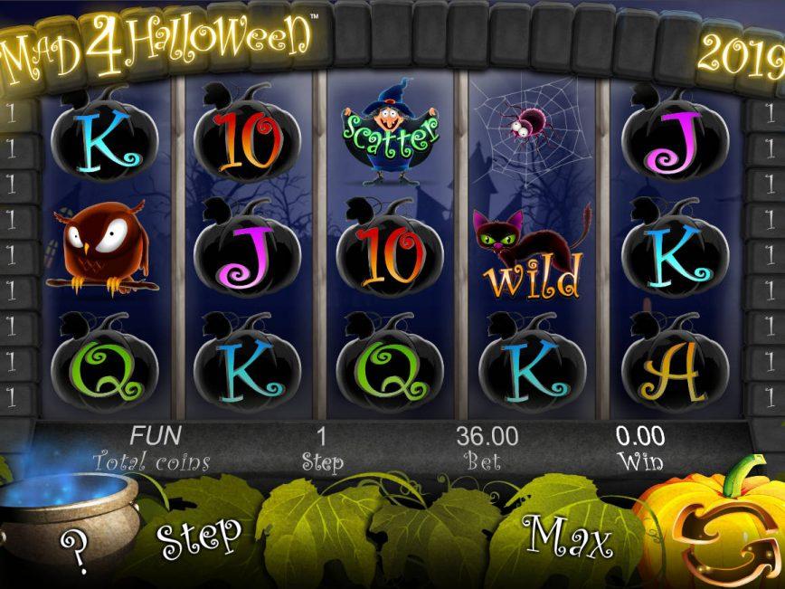 Online free slot game Mad 4 Halloween no deposit