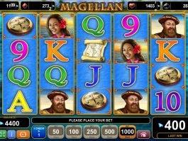 Slot machine for fun Magellan online