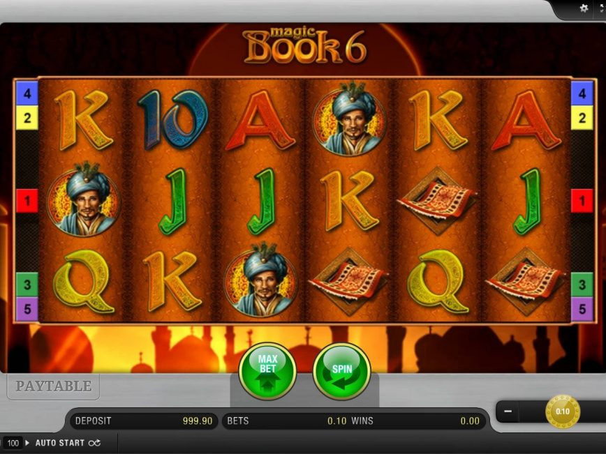 Casino free game Magic Book 6