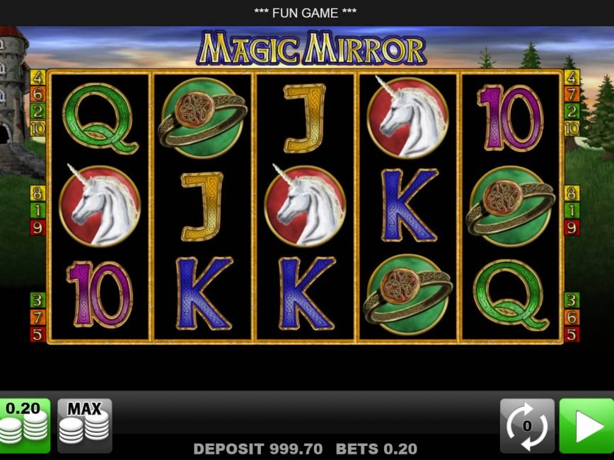 Spin free online slot Magic Mirror with no deposit