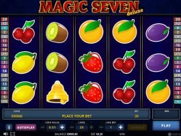 Play free slot machine Magic Seven Deluxe