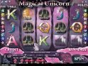 A picture of the slot machine Magical Unicorn online