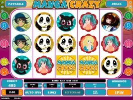 No deposit slot game Manga Crazy