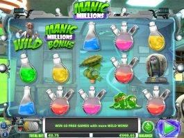 Manic Millions casino slot game by NextGen