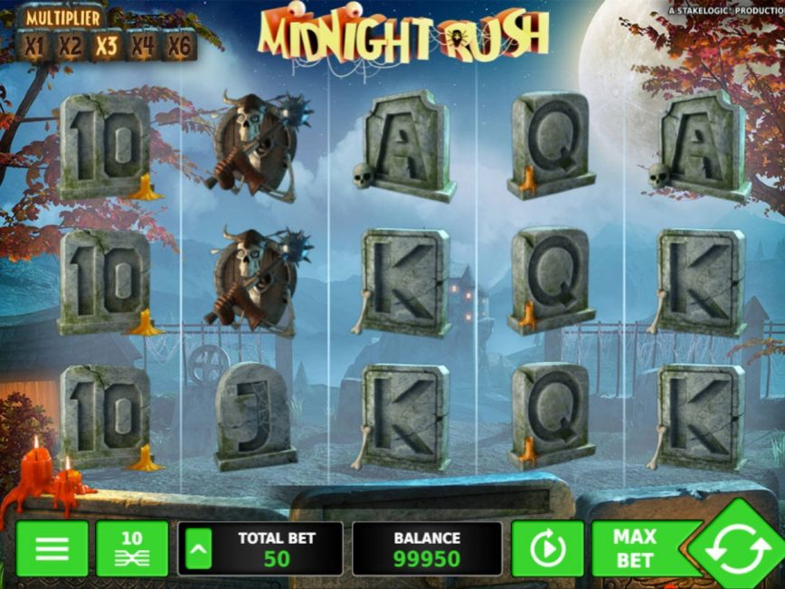 No download slot Midnight Rush