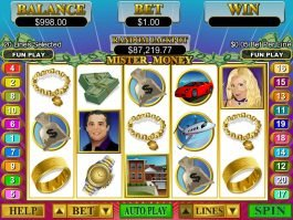 Casino slot game Mister Money no registration