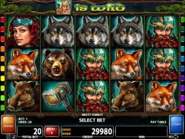 Casino free slot game Misty Forest