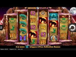 Slot machine Moon Temple online and free