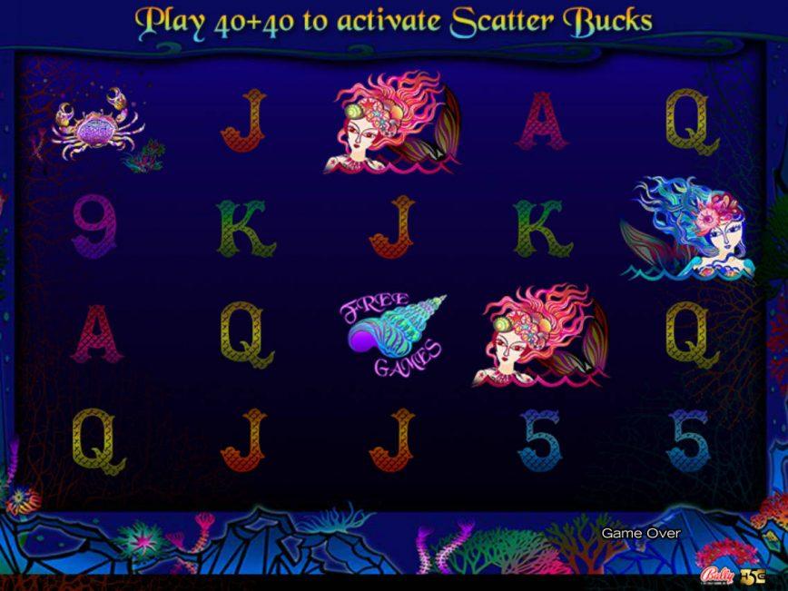 Moonlit Mermaids casino slot machine