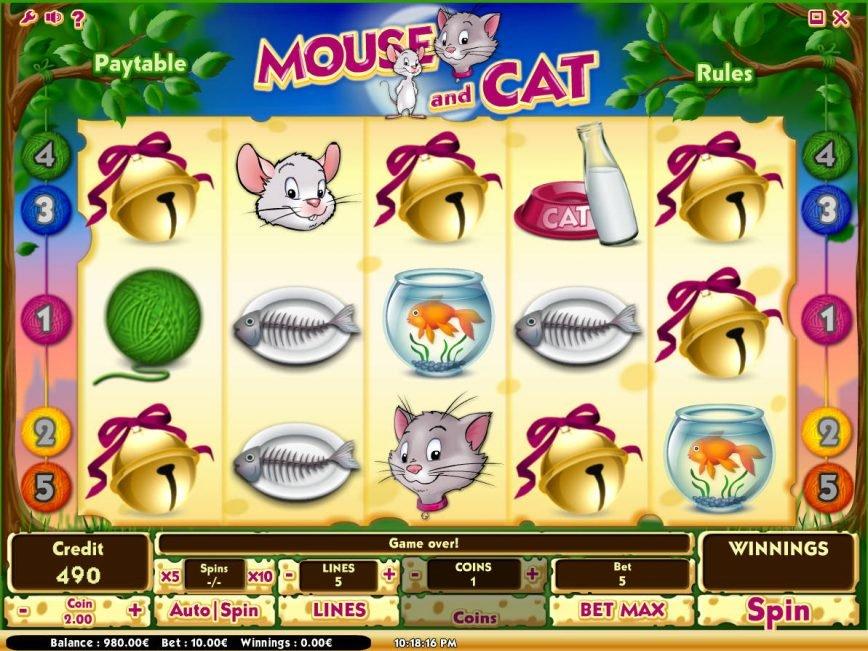 No registration online slot Mouse and Cat