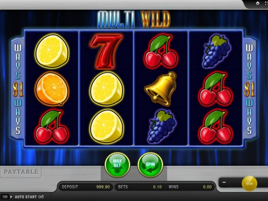 A picture of the slot game Multi Wild online