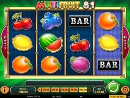 Multifruit 81 free slot game no deposit