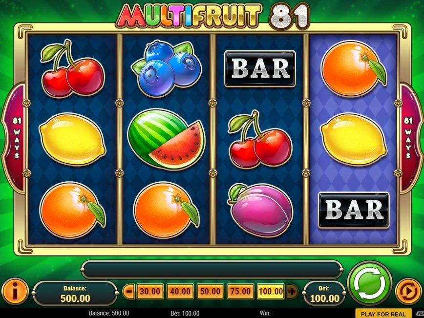 Multifruit 81 free slot game no deposit