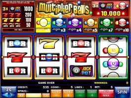 Multiplier Balls free slot game by iSoftbet