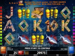 Free slot game Mystic Wreck