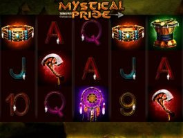 Casino slot game Mystical Pride for free