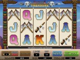 Casino slot machine Native Treasure for fun