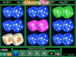 Casino free slot game Neon Dice