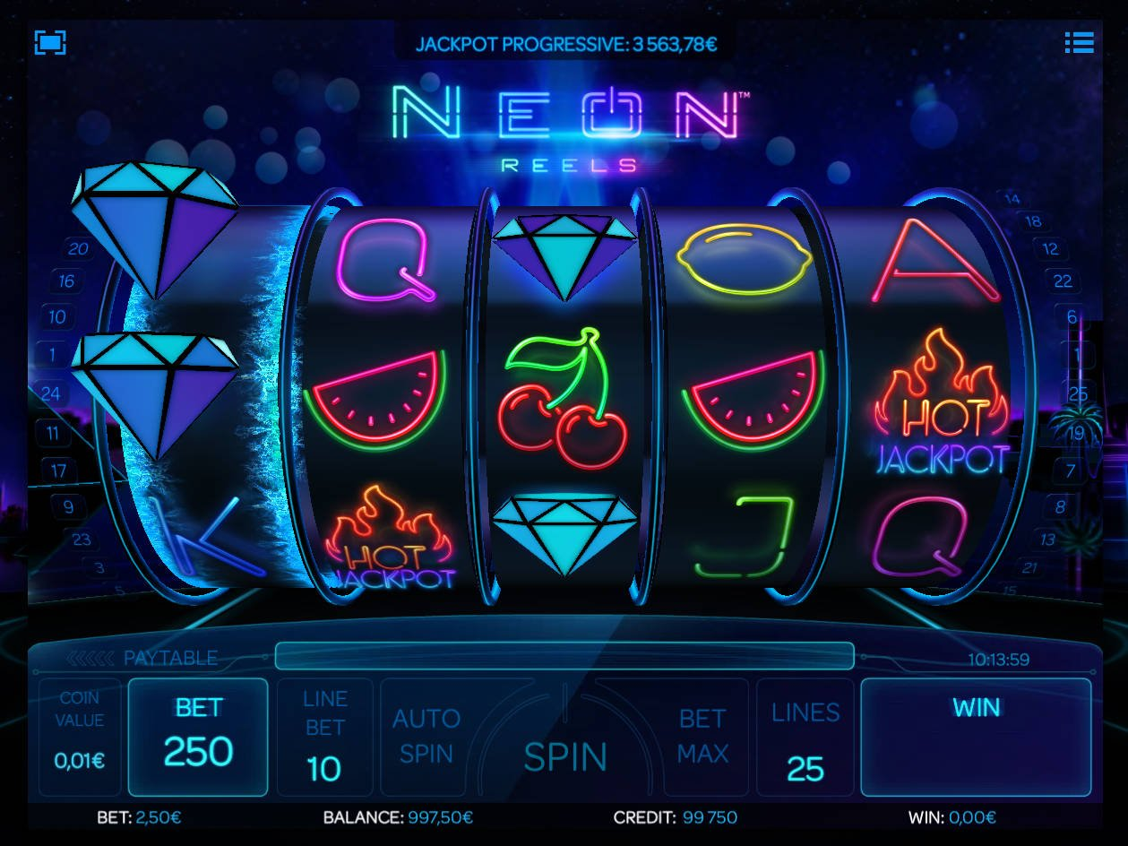 Spiele Neon Hot 5 - Video Slots Online