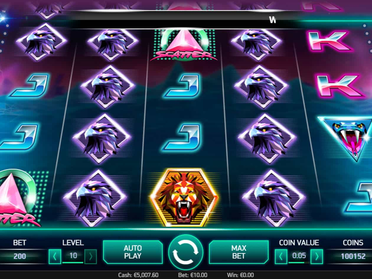 Neon Slots Themes Online