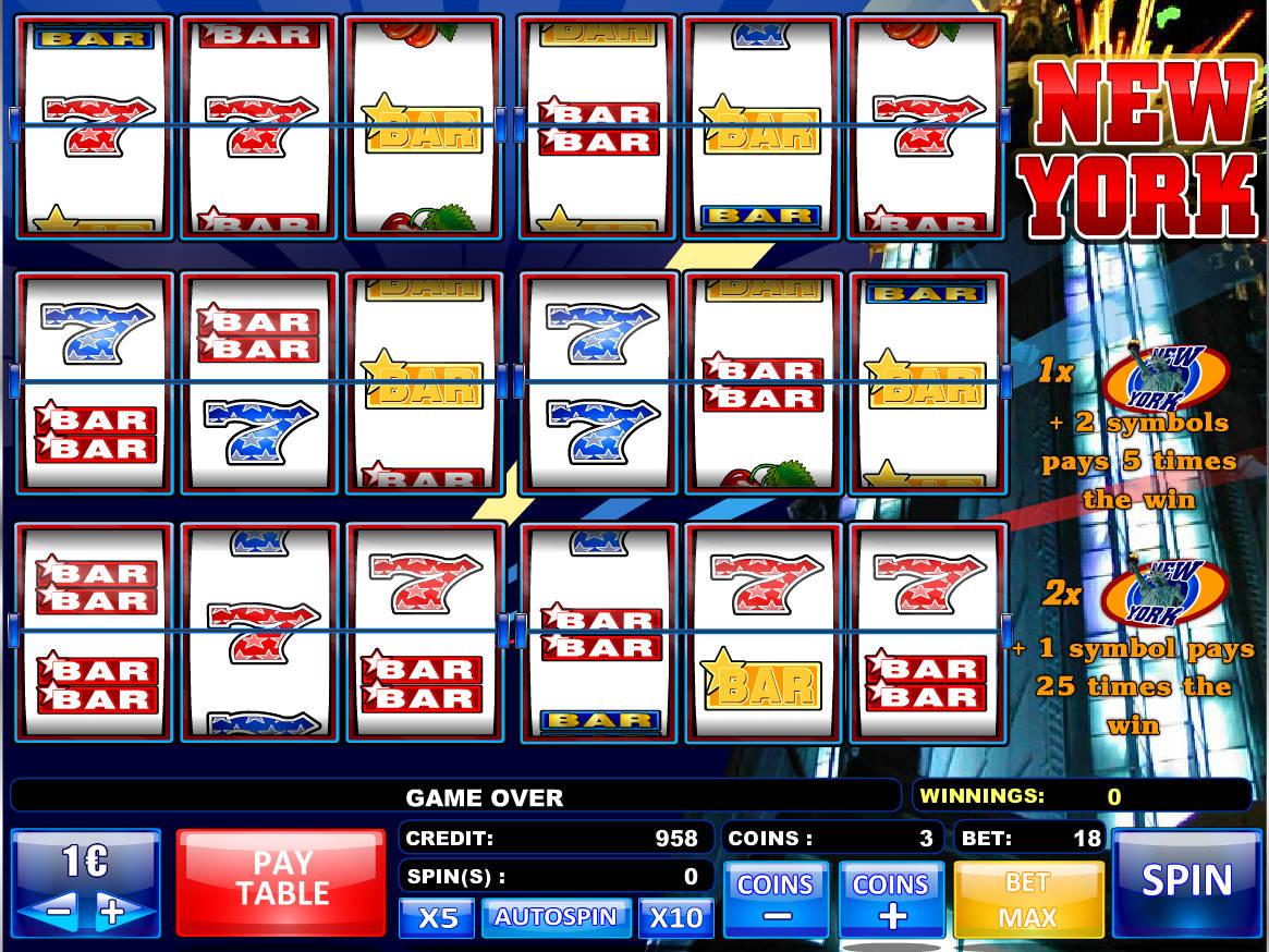 New York Slot Machine
