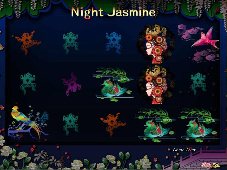Online slot game Night Jasmine