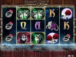 Play free slot machine Night of the Wolf