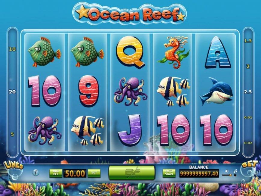 Casino free game Ocean Reef