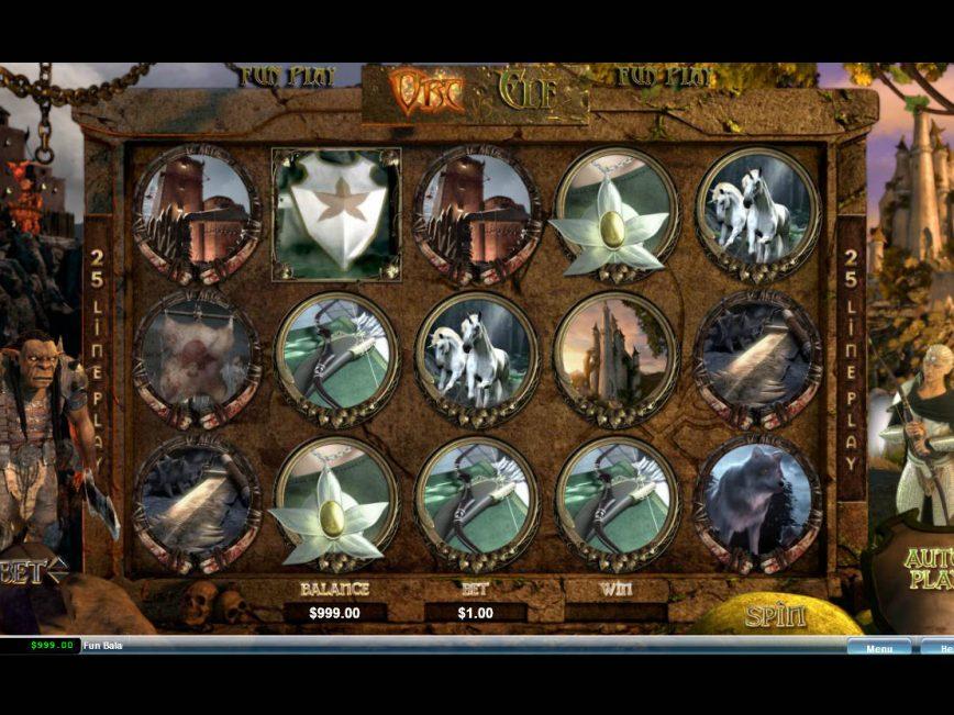 No registration slot Orc vs Elf online