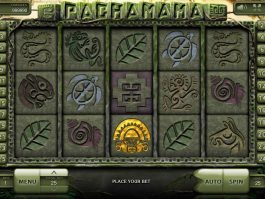 A picture of the online slot game Pachamama