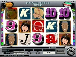 A picture of the slot game Paparazzi