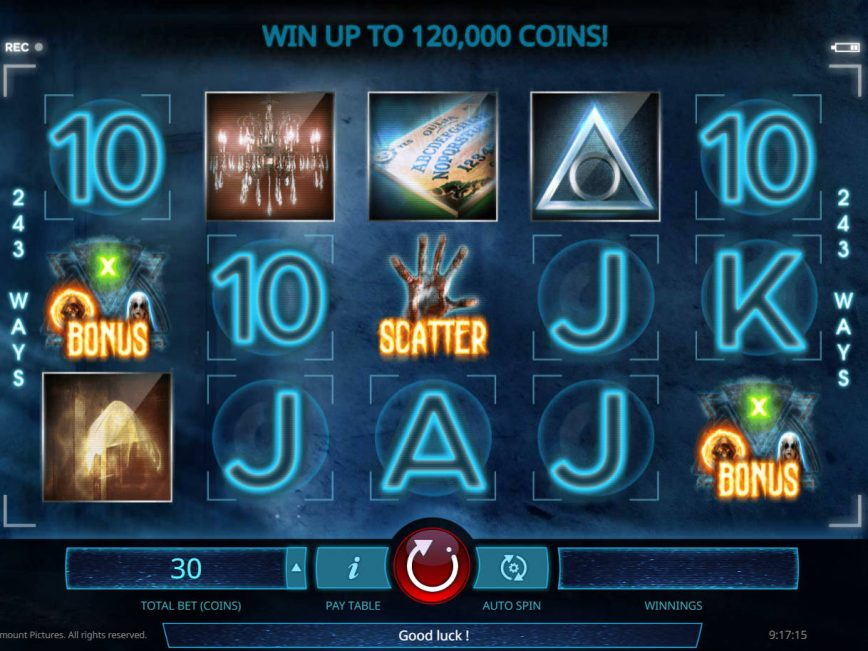 Spiele Paranormal Activity - Video Slots Online