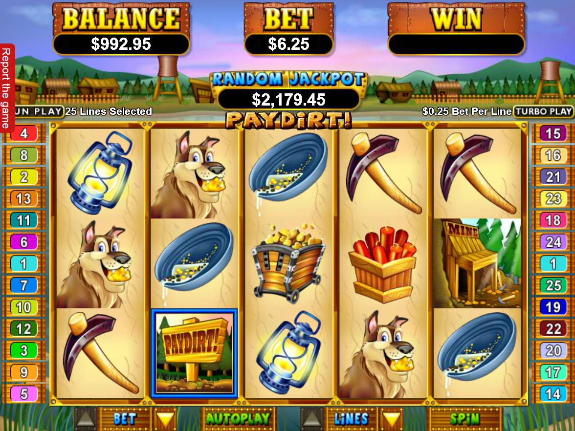 Paydirt Slot Machine Play Free Online Game Slotu Com