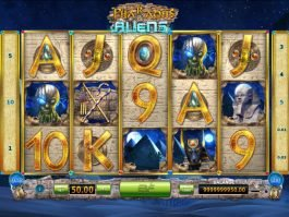 Pharaohs and Aliens free online game