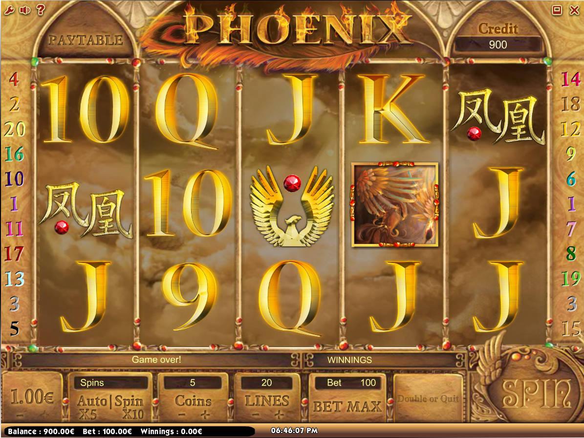 Phoenix Slot Game