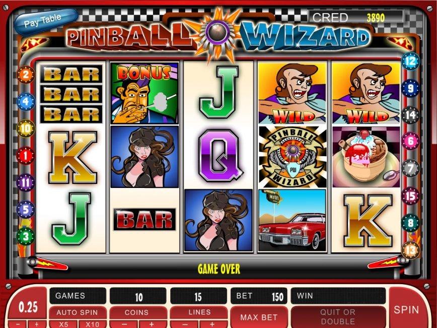 No download slot game Pinball Wizard