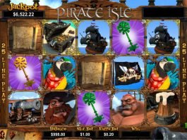 A picture of the Pirate Isle online game