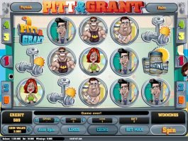 A picture of the slot machine Pitt and Grant